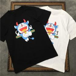 111543 GC 카툰 체스트 프린팅 반팔 티셔츠(2color)