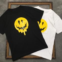 111552 호러 스마일 프린팅 반팔 티셔츠(2color)