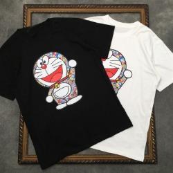 111554 멀티 카툰 레이어 프린팅 반팔 티셔츠(2color)