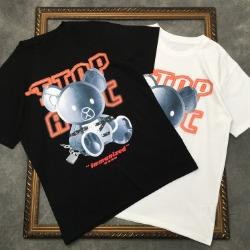 111661 본디지 베어 프린팅 반팔 티셔츠(2color)