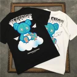 111662 클라우드 베어 프린팅 반팔 티셔츠(2color)