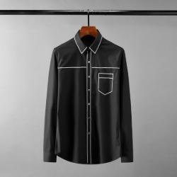 111612 스팽글 스티치라인 긴팔 셔츠(2color)