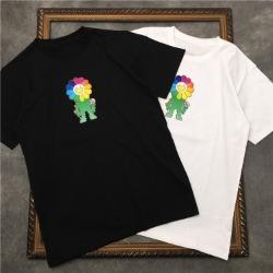 111565 멀티 썬플라워 프린팅 반팔 티셔츠(2color)