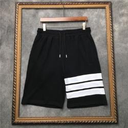 111591 데일리 삼선 포인트 하프 트레이닝 팬츠(Black)