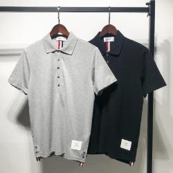 111579 삼펀 테이핑 뒷판 배색 PK 반팔 티셔츠(2color)