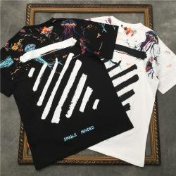 111727 젤리피쉬 프린팅 반팔 티셔츠(2color)