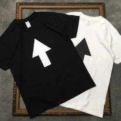 111719 WF 백 프린팅 반팔 티셔츠(2color)