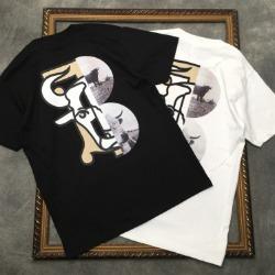 111732 언밸런스 불스 프린팅 반팔 티셔츠(2color)