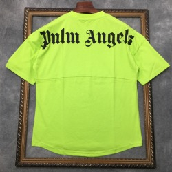 111716 PA 절개 포인트 넥 레터링 반팔 티셔츠(4color)