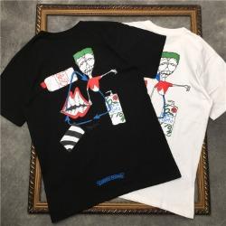 111817 컬러 블린드 애니 프린팅 반팔 티셔츠(2color)