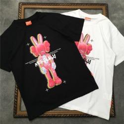 111720 머큐리 래빗 프린팅 반팔 티셔츠(2color)