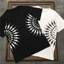 111718 NE 라이트닝 하프 서클 반팔 티셔츠(2color)