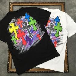 111830 컬러풀 크로스 그래피티 반팔 티셔츠(2color)