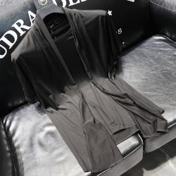 111743 M 숄카라 레이어드 반팔 티셔츠(Black)