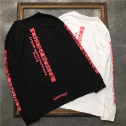 111917 고딕 레터링 프린팅 맨투맨 티셔츠(2color)