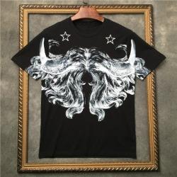 111879 데칼코마니 프린팅 반팔 티셔츠(Black)