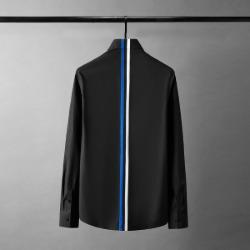 111882 뒷판 삼색 테이핑 포인트 긴팔 셔츠(2color)