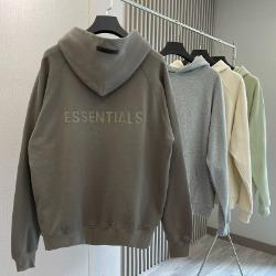 111979 에센셜 더블라인 레터링 후드 티셔츠(4color)