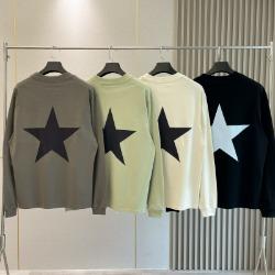 111955 에센셜 스타 백프린팅 맨투맨 티셔츠(4color)