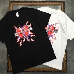 111870 하트 볼트 프린팅 반팔 티셔츠(2color)
