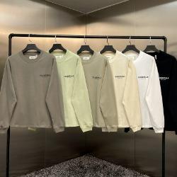 111965 에센셜 스몰 프린팅 긴팔 티셔츠(6color)