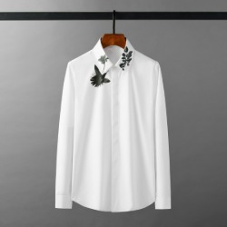 111926 모닝 글로리 프린팅 긴팔 셔츠(4color)