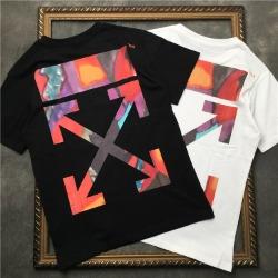 111872 레드 페인팅 에로우 반팔 티셔츠(2color)