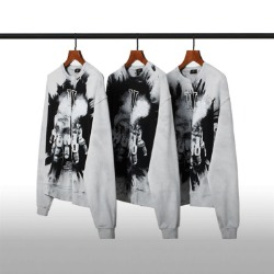 111993 피그먼트 워싱 잉크 스프레드 맨투맨 티셔츠(Gray)