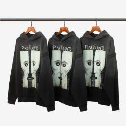 111994 피그먼트 워싱 시미스트리 후드 티셔츠(Charcoal)
