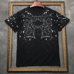 111871 제미니 스타 프린팅 반팔 티셔츠(2color)