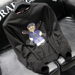 112107 카툰 베어 프린팅 맨투맨 티셔츠(2color)