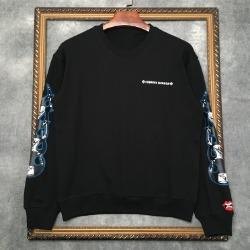 112179 울프 파이어 프린팅 맨투맨 티셔츠(2color)