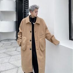 112130 빅포켓 벨벳 후리스 발바칸 코트(2color)