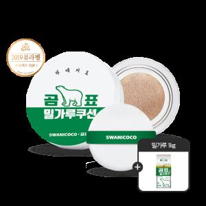 밀가루 쿠션 기획세트 (SPF 40 / PA+++)+[증정] 밀가루 1kg