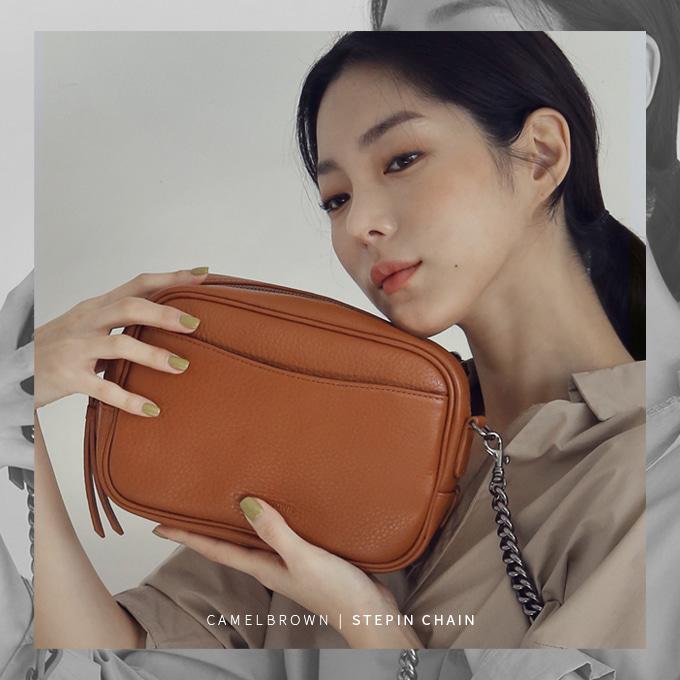 Stepin Chain Bag 스테핀 체인백 [탄색]