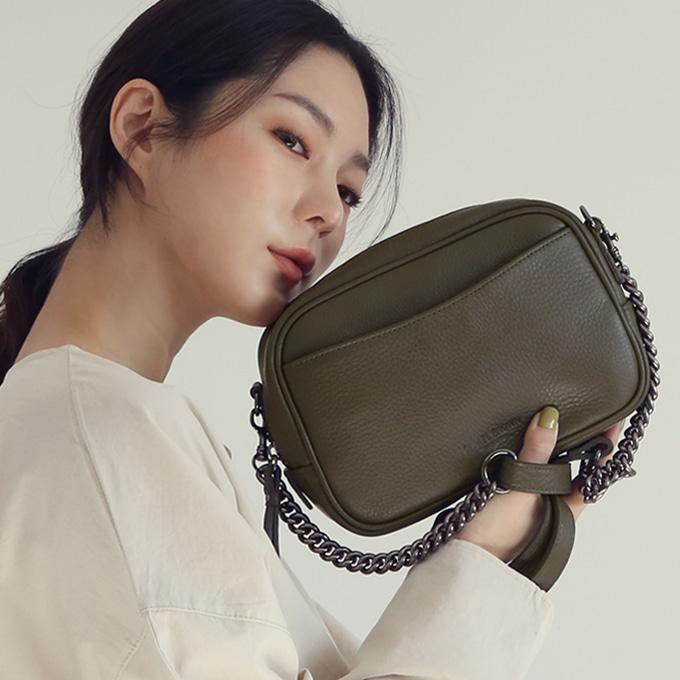Stepin Chain Bag 스테핀 체인백 [카키]