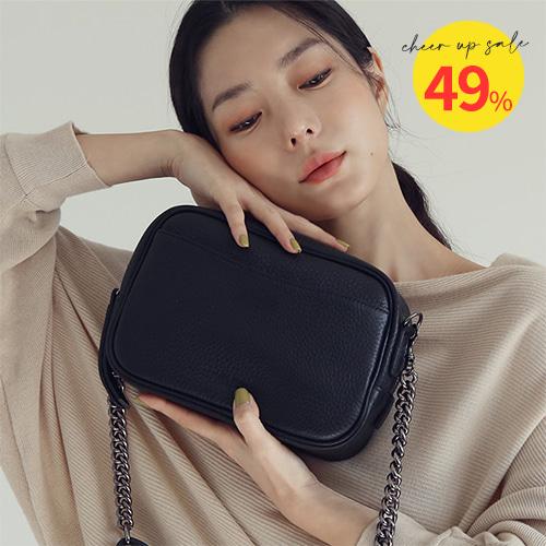 Stepin Chain Bag 스테핀 체인백 [블랙]