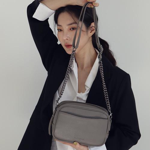 Stepin Chain Bag 스테핀 체인백 [그레이]