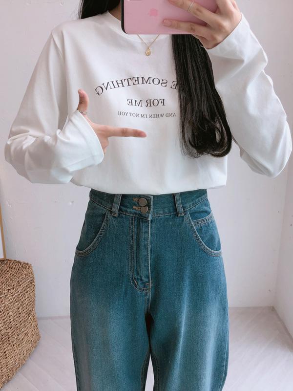 LIFE SOMETHING Tシャツ (t0228)