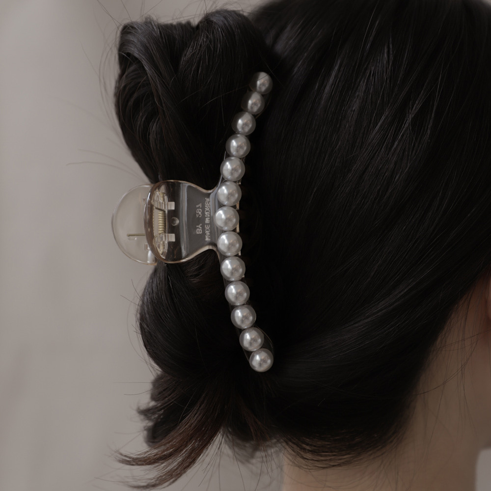 84 pearl line hairpin