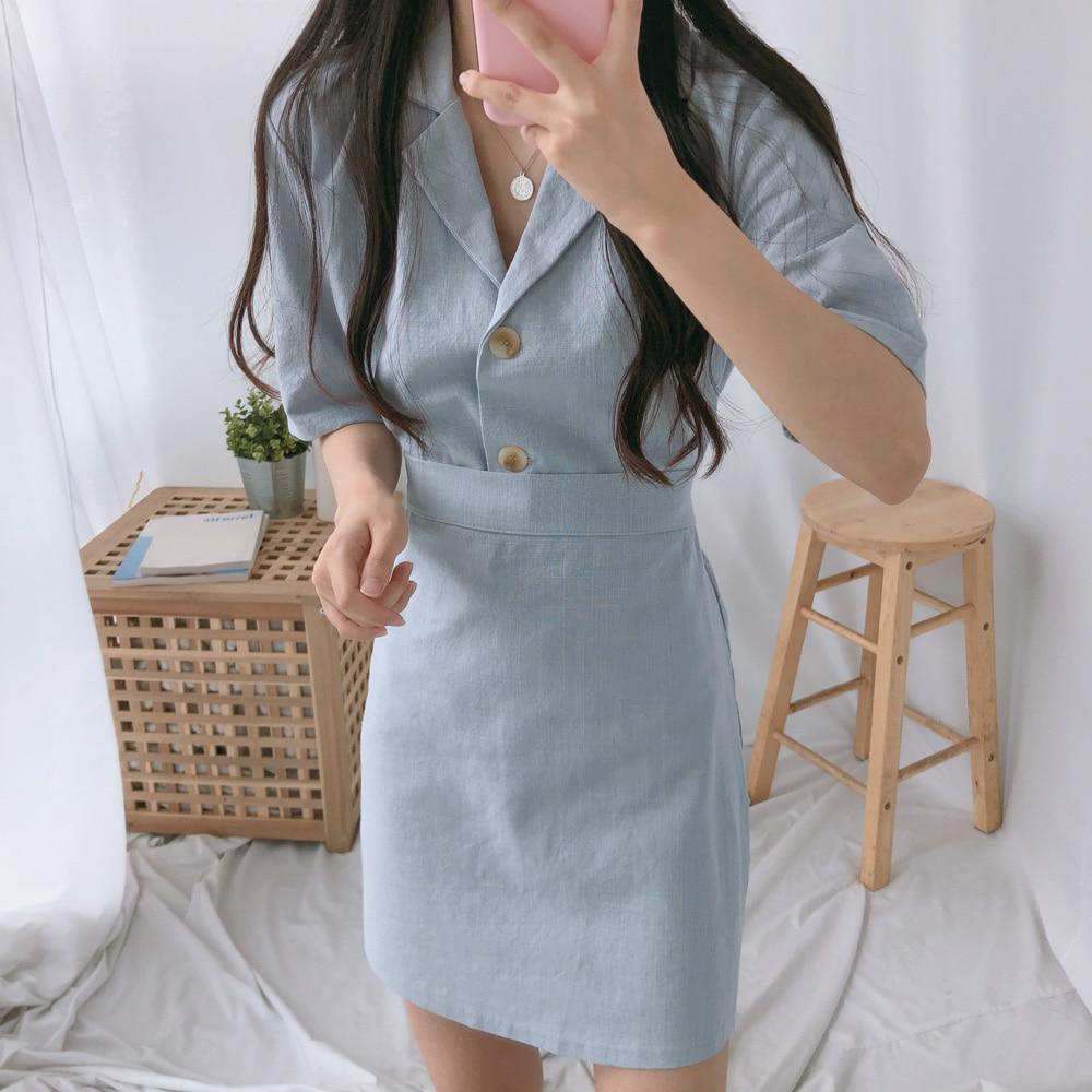 ファインシャツスカートSET (ops0349)
