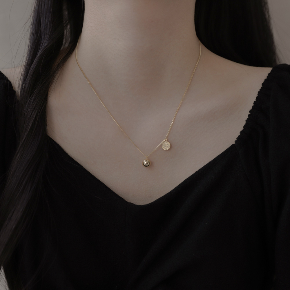 969 ball-coin necklace