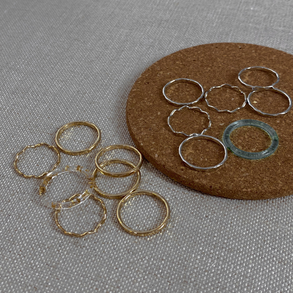 4-13 point 7 ring set