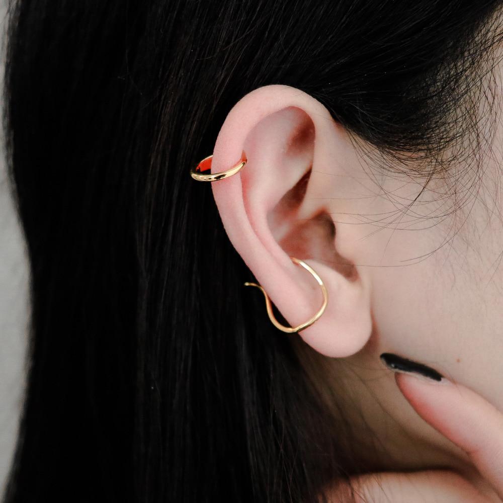 1452 natural line earcuff set