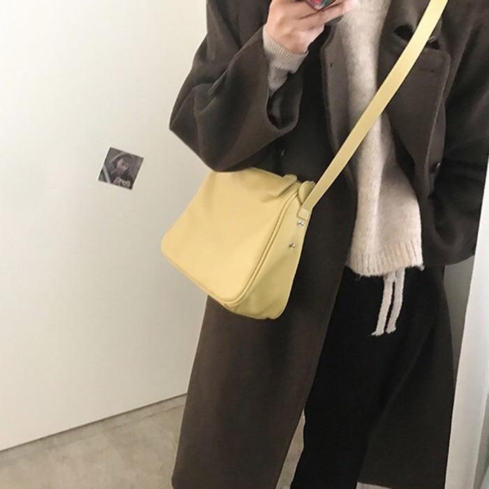 モダンスクエアショルダーバッグ (bag232)