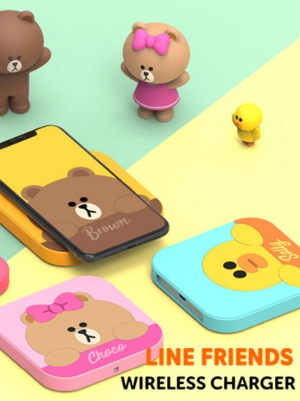 Line Friends Wireless Charger (pcs011)