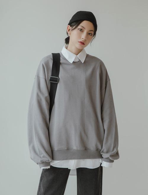 벌룬 맨투맨 티셔츠 (t0310)