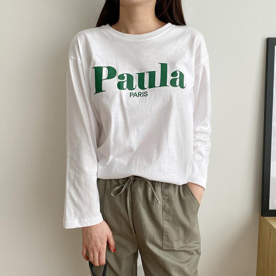 Paula paris 티셔츠 (t1495)