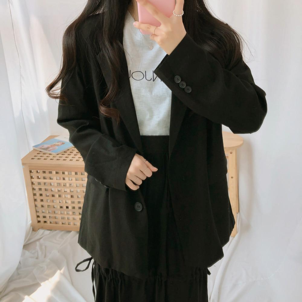 リネンヌーディーシングルジャケット (jk0176)
