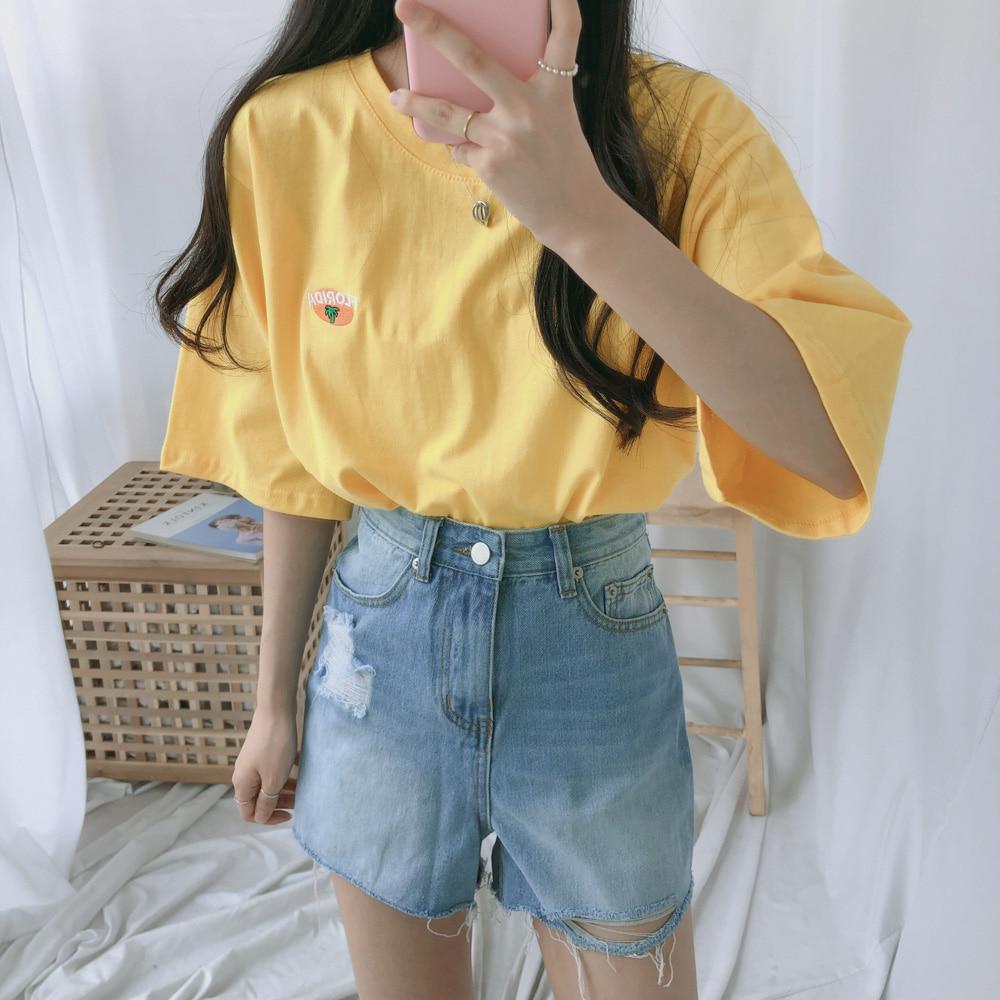 フロリダクロップ半袖Tシャツ (t1119)